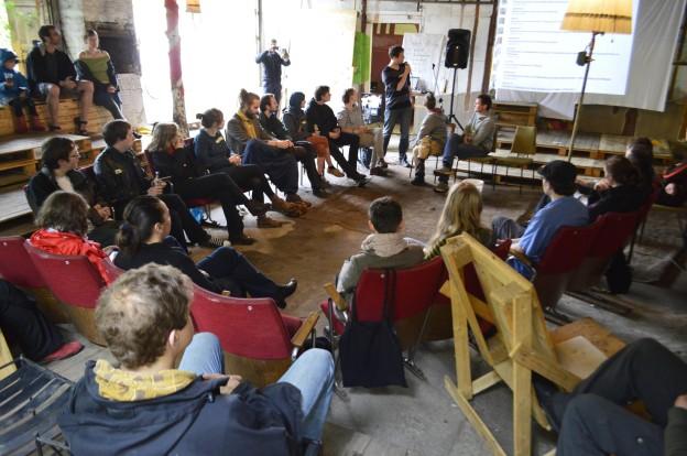 Eröffnung vom STADTCAMP Dresden